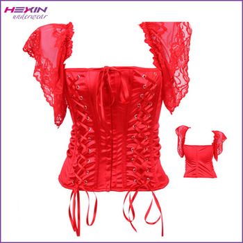 Tight Wedding Dress Factory Outlet Red Corset Tops To Wear Out - Buy ...