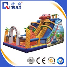 inflatable water slide for adult used swimming pool slide