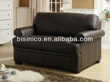 Incredible Top Genuine Leather Love Seat Sofa Antique Black Home Creativecarmelina Interior Chair Design Creativecarmelinacom