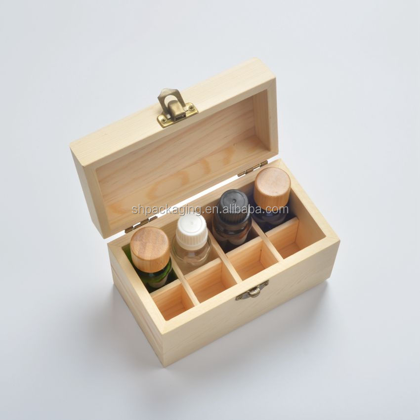 Stock and wholesale 8 grids <strong>wooden</strong> box for essential oils 8 pcs bottle of 15ml glass bottle gift storage <strong>wooden</strong> box