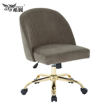 I High Top Furniture For Heavy People Lift Round Back Cream Colored Office Chair