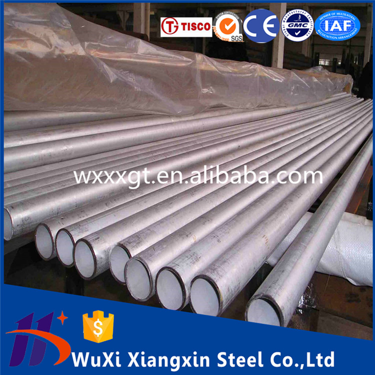 Satin finish 316 stainless steel pipe welded tubes price per ton/kg free samples