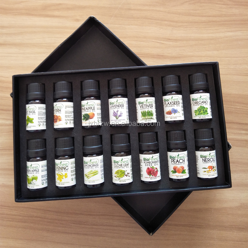 6pcs 8pcs 14pcs Essential Oils sets privately labaled in stock