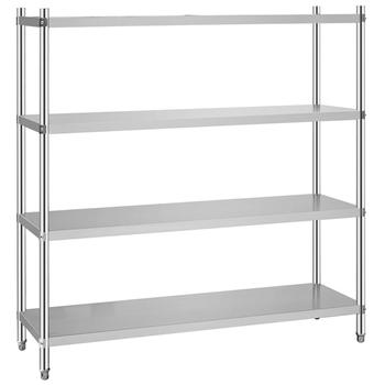BN R02 Stainless Steel Kitchen Utensil Rack For Hotel And Restaurant