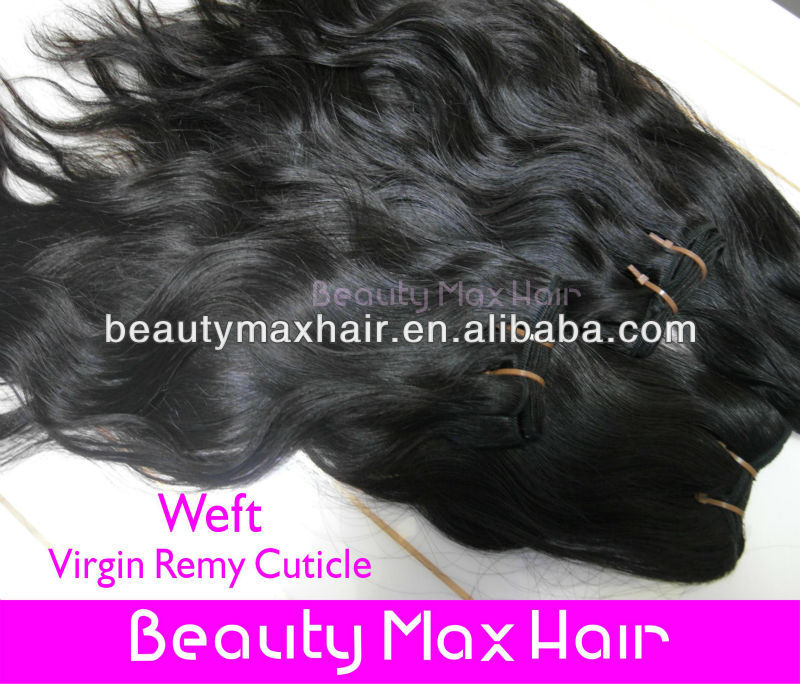 Amazing price no shedding brazilian virgin hair extenion,natural color natural wave virgin human hair weft accept paypal