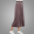 New fashion high quality women trousers loose elastic waist wide leg shiny color pants