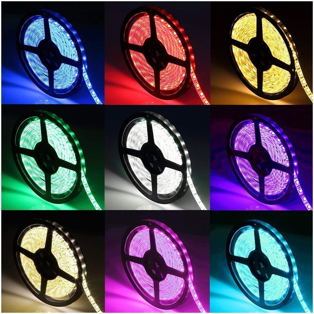 Cheap 4smd 5050 Led Light Find Deals On Line At Lamp Circuit Board50503smd China Car Get Quotations Superego 164ft 5m Smd Waterproof 300leds Rgb Color Changing Flexible Strip