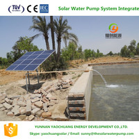 New green energy water pumping machine 30,000 liters/h discharge irrigating solar water pump system for well & river