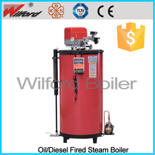automatic diesel or gas fired natural gas steam generator