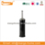 Black color toilet cleaning brush stainless steel