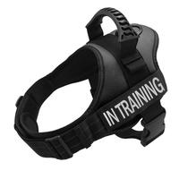 Training Service Dog Harness Reflective Vest with Comfortable Handle