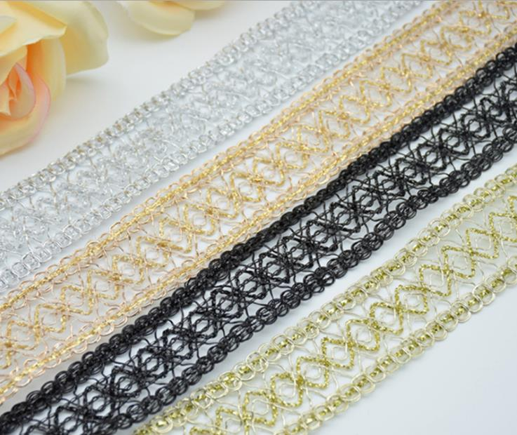"""5 Yds White Wedding Mesh Net Netting Silver Holographic Wired Ribbon 1 1//2/""""W"""