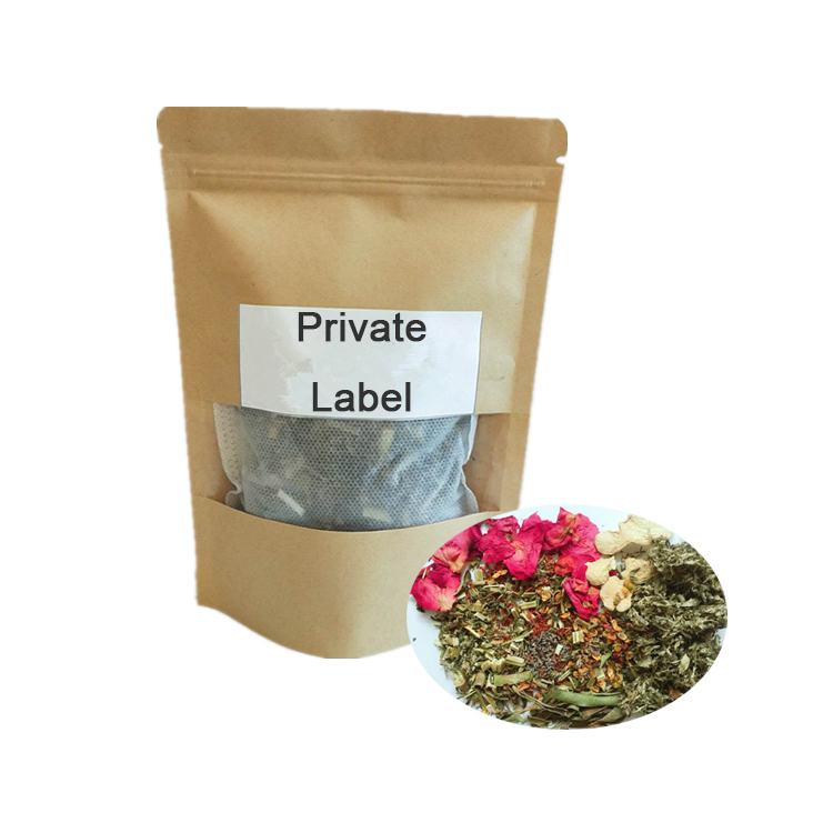 Private label Femi medicine Yoni Steam Herbs for Vagina Cleaning