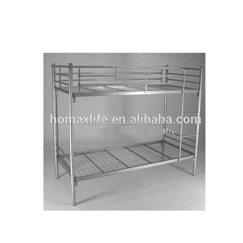Europe Refuge Camp Military Style Bunk Bed Cheap Metal Bunk Bed