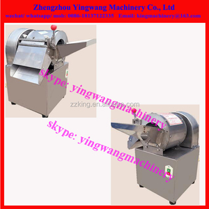 Small vegetable onion / eggplant /ginger /tuber cutting slicing machine for restaurant use