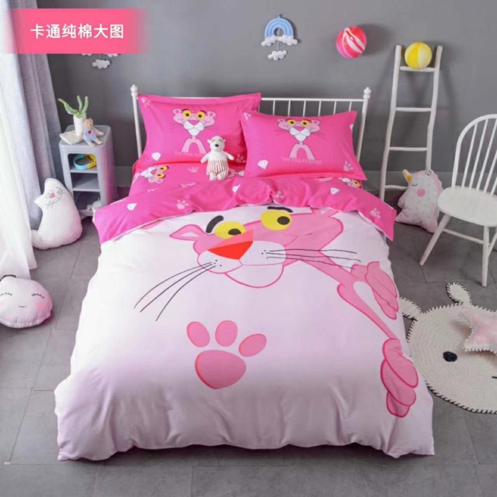 OVERLORD albedo Cosplay Anime Cover BedSheet Pillowcase 4pcs Bedding Set