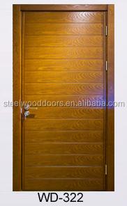 China Modern Wood Main Front House Door Model