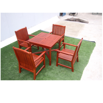 Modern Furniture-Camping Outdoor Tables-Outdoor Dining Set-Natural Wood Garden Table