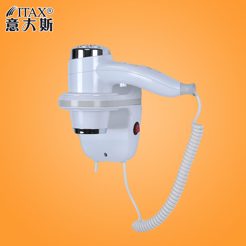 Fold-able wall-mounted electric hotel special hair & skin dryer bathroom waterproof ABS plastic CE ROHS salon hair dryer