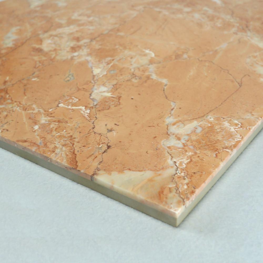 Pulido m rmol azulejo de suelo el color naranja m rmol for Azulejos de marmol