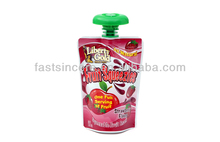 Mini Stand Up Juice Packaging Bags/Small Aluminium Foil Juice Bags/Juice Spout Pouch