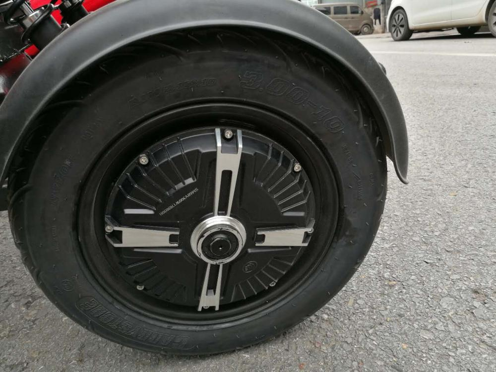 Highest Speed 50km/h None-fall Tilting System Three Wheel Motorcycle  Scooter For Adult - Buy Motorcycle Scooter,Three Wheel Electric  Scooter,Tilting