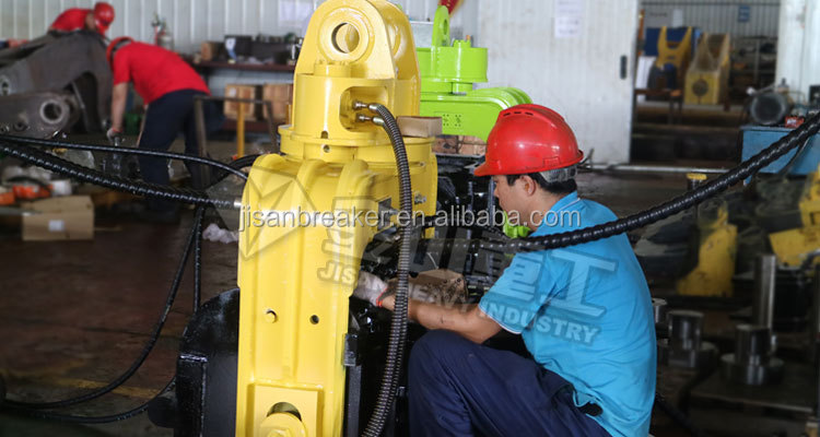 Construction machinery excavator hydraulic pile driver for EC210 ZX220 excavator