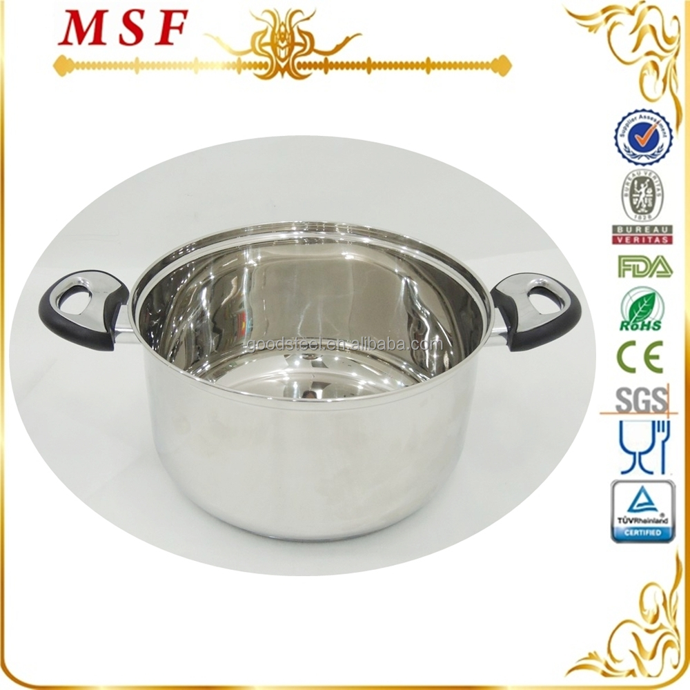 6.1l Stainless Steel Stock Pot Cheap Price Induction Pot