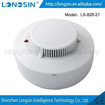 Home Bedroom Office Bathroom Smoke Detector Alarm Fire