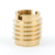 Custom precision cnc turning brass machining thread parts