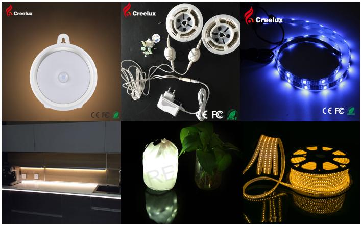 एलईडी फ्लेक्स नीयन प्रकाश जादू स्ट्रिप्स 12/24V आरजीबी रस्सी प्रकाश 5050 चिप्स IP67 निविड़ अंधकार नीयन आकार सजावट