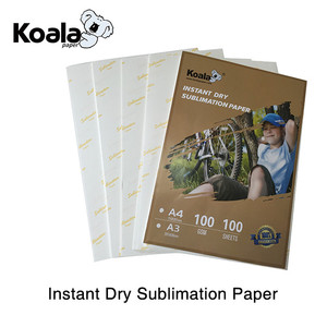 A4 heat transfer 100gsm fast dry sublimation paper