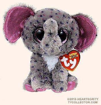 7b11b59391d New TY Beanie Boos SPECKS the Spreckled Elephant (Glitter Eyes) (Regular  Size - 6 inch)Cute Plush Toys 6   15cm Ty Plush Animals Big Eyes Eyed  Stuffed ...