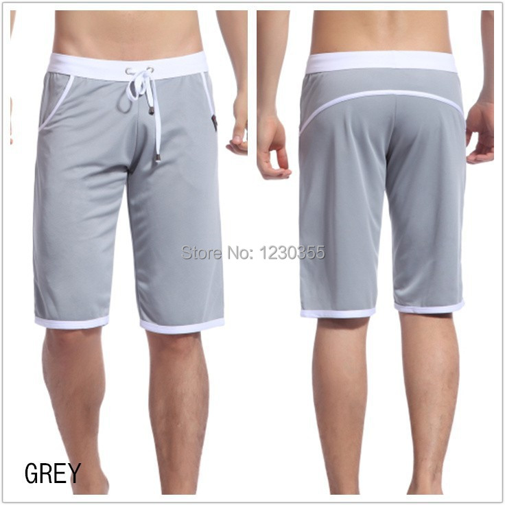 men trousers sport shorts brand shorts men gym sportswear ...