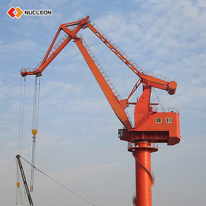 Low Price Floating Dock Sea Port Heavy Lifting Portal Crane