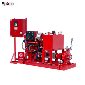UL/FM Fire Pump set With centrifugal Diesel Engine End Suction Fire Pump Sets 500GPM @ 111psi
