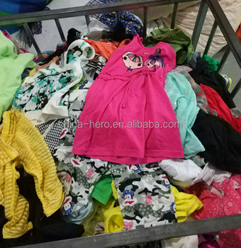 9390b74ba Summer Mixed Used Children Clothing Second Hand Clothing In Bales Uk ...