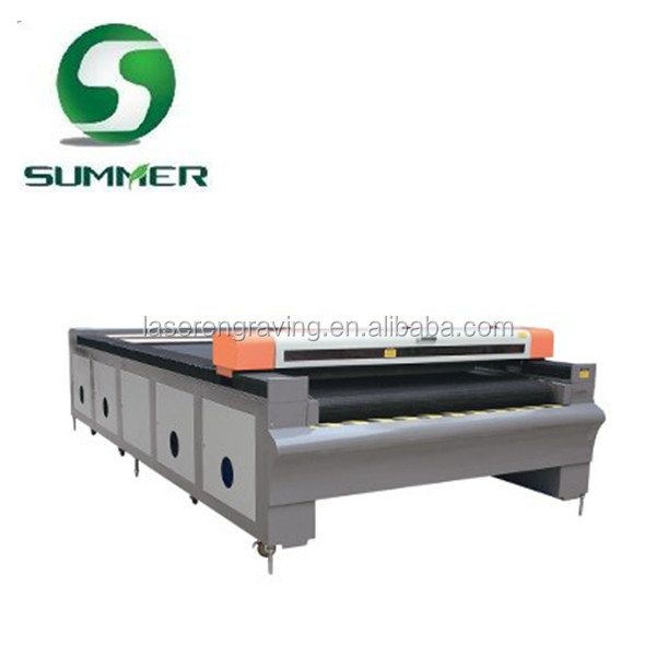 laser cutting wool fabric machine