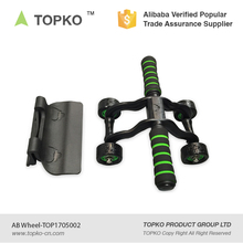 2017 wholesale TOPKO fitness exercise small roller ab wheel 2