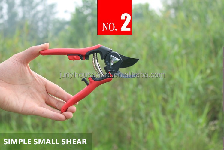 Cut diameter 18mm garden clipper for fruit picking with SK5 blade