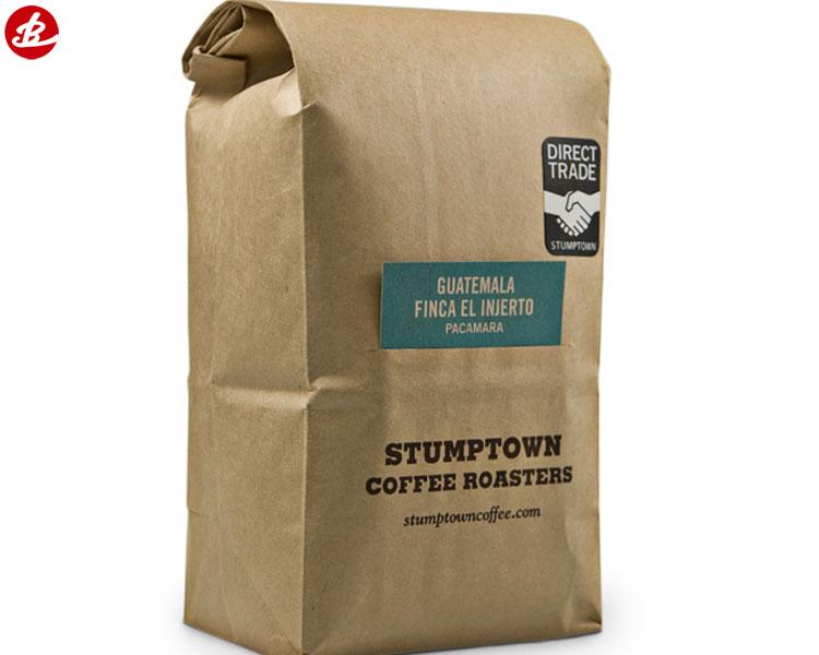 Custom Printing Foldable Shopping Craft Food Packing Paper Coffee Bag Buy Coffee Bag Packing Bag Foldable Shopping Bag Product On Alibaba Com