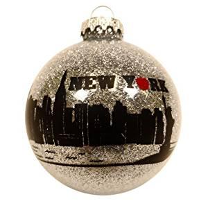 Christmas New York Ornament Holiday City Le Tree 3