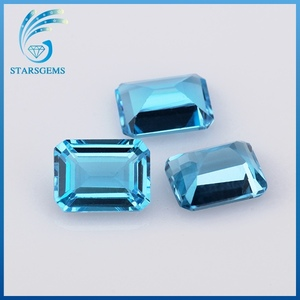 step cut 6x8mm octagon topaz fancy shape natural gemstones for sale