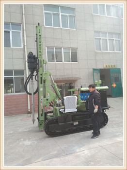 powerful crawler rotary drill rig MZ130Y-2 with CE/ISO Certification for sale
