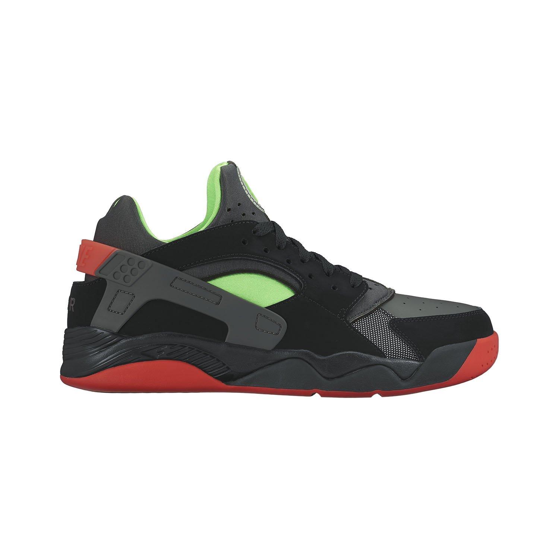 buy popular a6fb5 fd3b3 Get Quotations · Nike Men s Air Flight Huarache Low, BLACK RG  GREEN-ANTHRACITE-LIGHT CRIMSON
