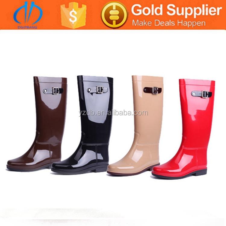 Princess Non-slip Ladies Fashion Rubber Rain Boots - Buy Ladies ...