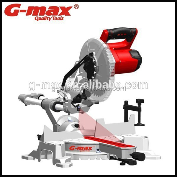 G-max Professional 10 Inch Single Level Sliding Miter Saw GT15335