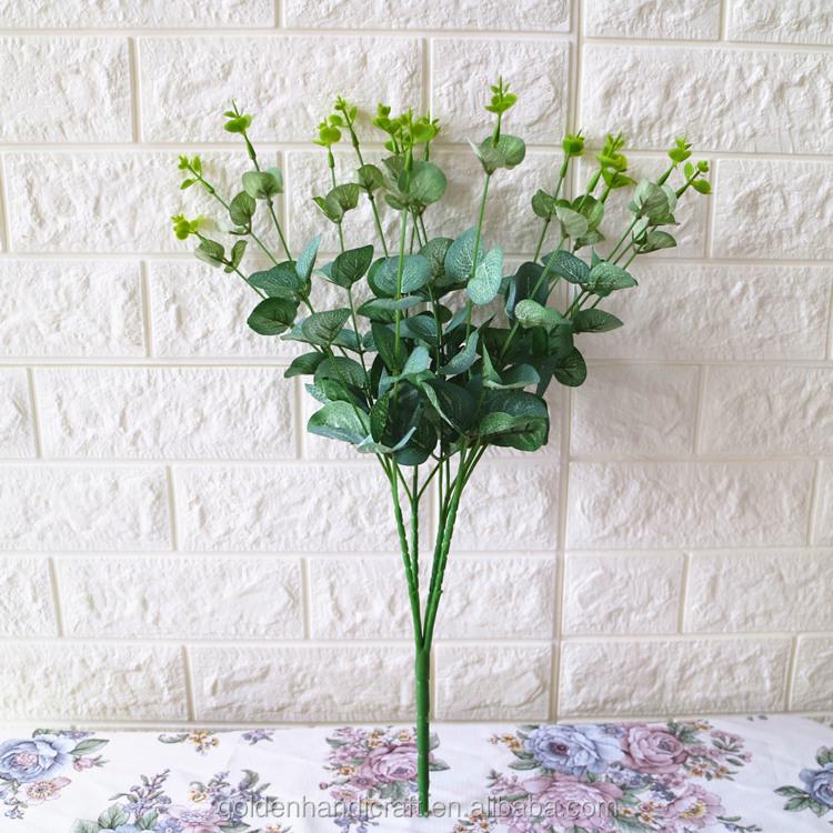 Venta al por mayor flores artificiales con purpurina-Compre online ...