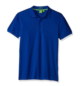 slim fit polyester elastan polo shirt cloth