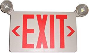 Exit Sign Emergency Light Combo Hidden Camera 2 Cameras Built In Dual Cam